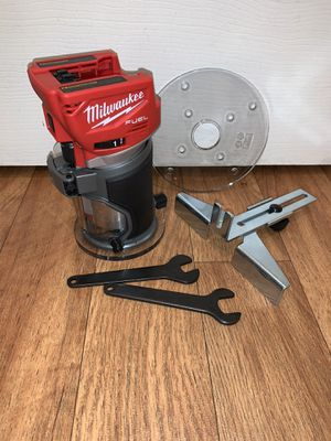 Milwaukee m18 compact router. Tool only. $140 price is firm. Not negotiable for Sale in Bellevue, WA