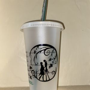 Custom Made Starbucks Cup Nightmare Before Christmas for Sale in Long Beach, CA