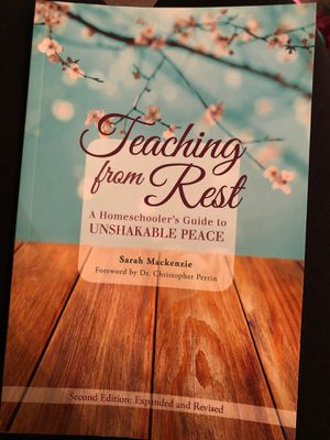 Teaching from rest homeschool book for Sale in Victorville, CA