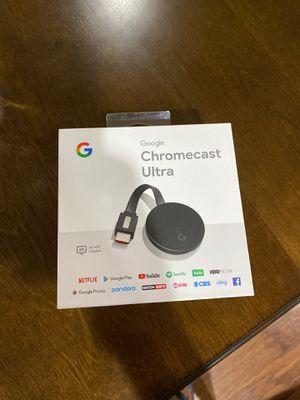 Chromecast ULTRA for Sale in Harrisburg, NC