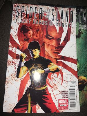Spider Island: Deadly Hands Of Kung-Fu 1-3 for Sale in Cupertino, CA