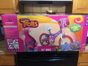 "DreamWorks Trolls Bike 16"" New In Box for Sale in Stafford, VA"
