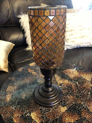 Mosaic candle holder for Sale in Lemon Grove, CA