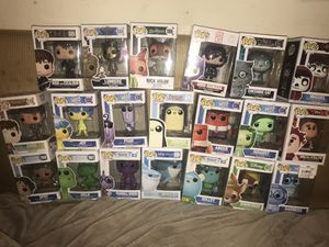 Pop funko LOT OF 20 including rare pops! Retired for Sale in Littleton, MA
