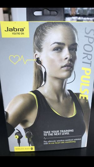 Brand New Jabra Sport Pulse Wireless Earbuds for Sale in Seattle, WA