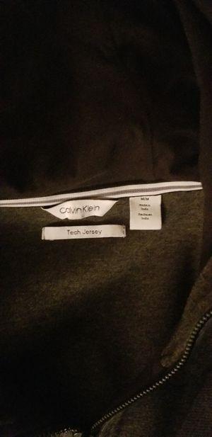 Calvin Klein zip up sweatshirt for Sale in Denver, CO