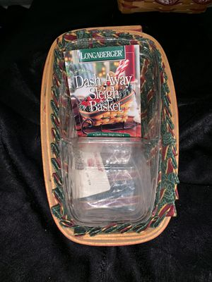 Longaberger Dash Away Basket for Sale in Orlando, FL