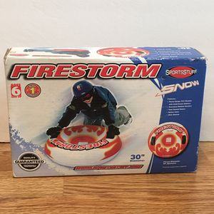"NEW 30"" Firestorm snow tube sled - ages 6+ for Sale in Peoria, IL"