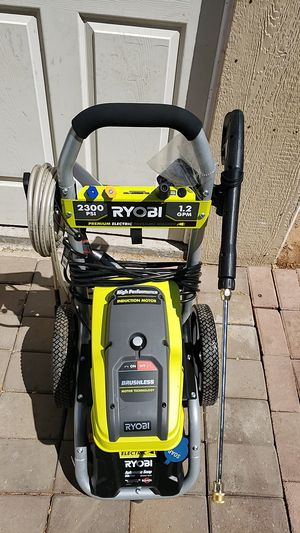 RYOBI 2,300 PSI 1.2 GPM High Performance Electric Pressure Washer for Sale in Phoenix, AZ