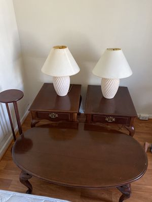 6 pic , One big tiple, 2 square tiple , and 2 lamps gift 🎁👍 for Sale in Herndon, VA