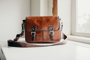 Camera and Lens Bag | Leather for Sale in Dallas, TX