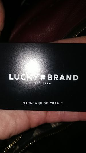 Lucky brand merchandise credit for Sale in Lynnwood, WA