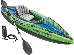New Sealed! K1 Challenger Kayak 220lb Rated! w Aluminum Paddle + Pump + Bag Canoe for Sale in Castro Valley, CA