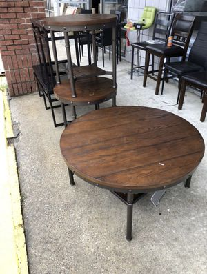 Furniture coffee table with two piece for Sale in Garland, TX