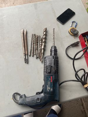 Bosch with drill bits for Sale in Houston, TX