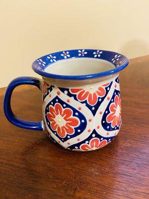 Beautiful New Yokohama Studio -Hand Painted Coffee Mug.. Beautiful for Sale in San Antonio, TX