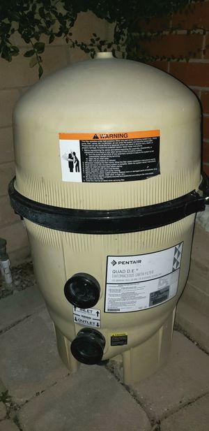 Pentair Quad DE filter 60 sq ft/120 GPM for Sale in Laguna Beach, CA