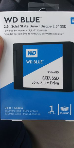 1wd 1tb ssd for Sale in South Bend, IN