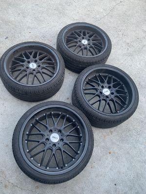 "19"" alloy wheels new tires for Sale in Pico Rivera, CA"