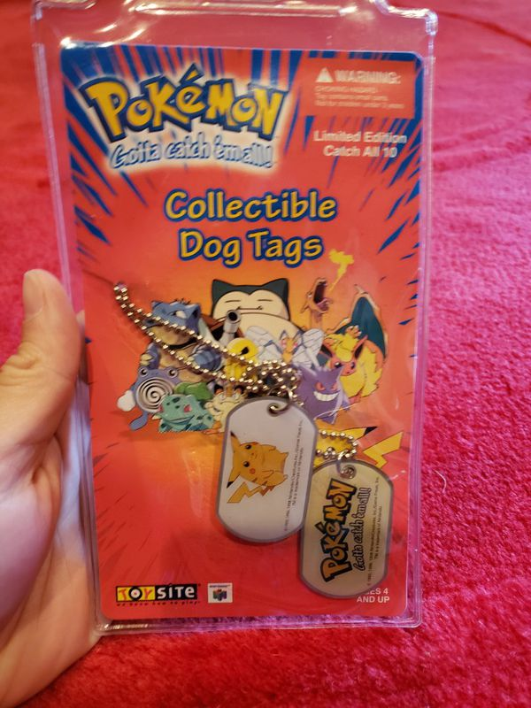 Pokemon Collectible Dog Tags