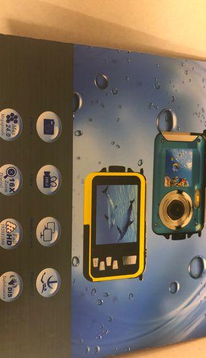 Double screens waterproof camera ( Brand new) for Sale in Lynnwood, WA