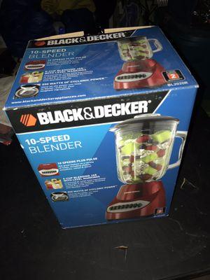 Brand new black and decker 10 speed blender for Sale in Las Vegas, NV