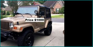 ֆ1OOO Jeep Wrangler for Sale in Lancaster, CA