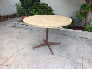 """Vintage Boho Dining Kitchen Table- 48 3/4"""" for Sale in San Diego, CA"""