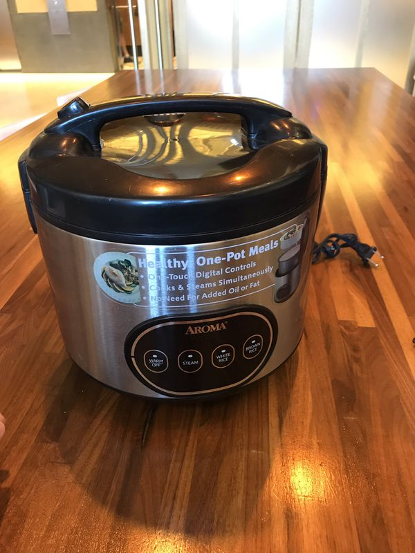 Aroma 8 cup Rice Cooker and Steamer