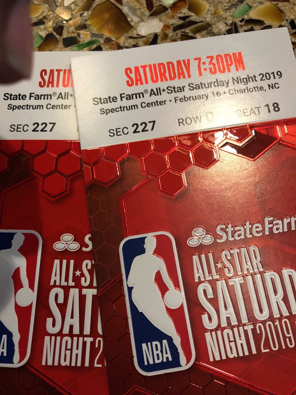 2 Tickets for tonight center court