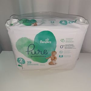 Pampers Pure Protection Size 2 Count 29 for Sale in Atlanta, GA