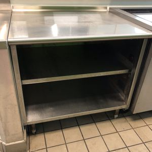 """36"""" x 30"""" Stainless Table/Cabinet for Sale in Sarasota, FL"""