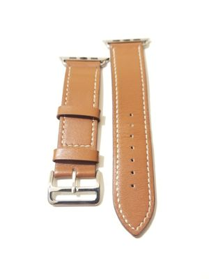 Brown Leather 42mm Apple Watch Strap for Sale in Minneapolis, MN