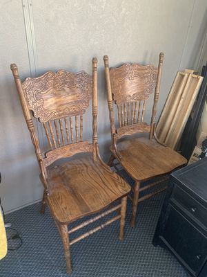 2 antique chairs for Sale in Wheat Ridge, CO