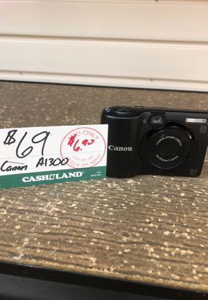 Canon A1300 camera for Sale in Garfield Heights, OH