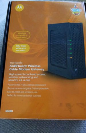 Motorola router for Sale in Long Beach, CA
