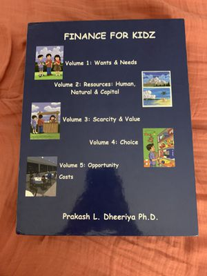 Finance For Kids Vol.1-5 for Sale in Ontario, CA