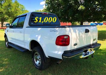 🟢💲1,OOO I'm selling URGENT this Beautiful💚2OO2 Ford F15O nice Family truck XLT Everything is working great! Runs great and fun to drive💪🟢 for Sale in Dallas,  TX
