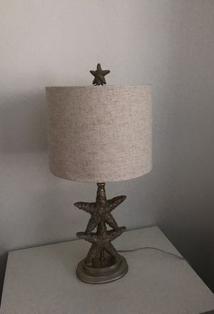 Starfish accent lamp for Sale in Bethesda, MD