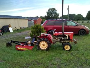 Yanmar Diesel tractor with bush hog for Sale in Anderson, SC