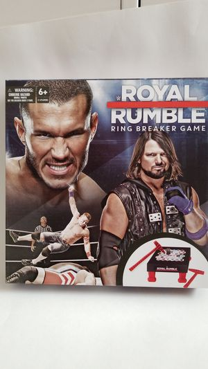 WWE Royal Rumble Ring Breaker Board Game for Sale in Los Angeles, CA