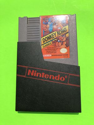 Original NES Nintendo Donkey Kong Classics for Sale in Missoula, MT