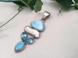 Beautiful Multi Gemstone Pendant for Sale in Farmington Hills, MI