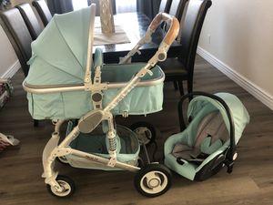 Teal Modern Baby stroller for Sale in Sunrise Manor, NV