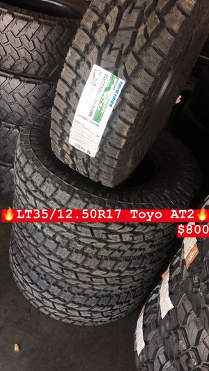 35/12.50R17 Toyo All terrain tires (4 for $800) for Sale in Whittier, CA
