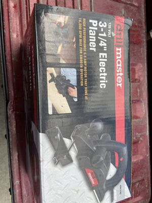 """3-1/4"""" Electric planer Drill Master for Sale in Lake Elsinore, CA"""