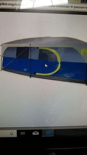New Coleman 9 person tent for Sale in Myrtle Beach, SC
