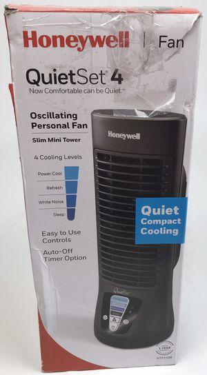 New Honeywell 4 Speed Slim Mini Tower Fan Black (Tarpon Springs) for Sale in Tarpon Springs, FL