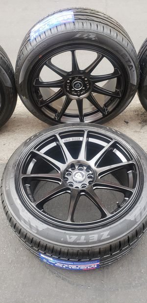 Rims 18 5 lugs all new rims and tires for Sale in Cudahy, CA