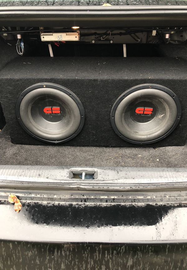 GS REDLINE COMPETITION SUBWOOFERS